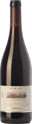 9,95 € Free Shipping | Red wine De Muller Joven D.O. Tarragona Catalonia Spain Syrah Bottle 75 cl