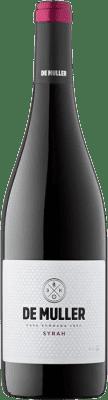 9,95 € Free Shipping | Red wine De Muller Joven D.O. Tarragona Catalonia Spain Syrah Bottle 75 cl