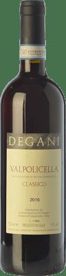 8,95 € Free Shipping | Red wine Degani Classico D.O.C. Valpolicella Veneto Italy Corvina, Rondinella, Corvinone Bottle 75 cl