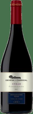 18,95 € Envío gratis | Vino tinto Dehesa del Carrizal Crianza D.O.P. Vino de Pago Dehesa del Carrizal Castilla la Mancha España Syrah Botella 75 cl
