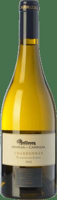 23,95 € Free Shipping | White wine Dehesa del Carrizal Crianza D.O.P. Vino de Pago Dehesa del Carrizal Castilla la Mancha Spain Chardonnay Bottle 75 cl
