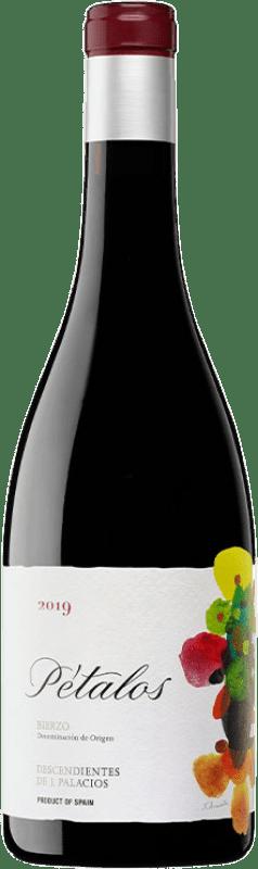 14,95 € Envío gratis | Vino tinto Descendientes J. Palacios Pétalos Joven D.O. Bierzo Castilla y León España Mencía, Garnacha Tintorera Botella 75 cl