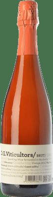 13,95 € Envío gratis | Espumoso rosado DG Rosé Brut Reserva D.O. Cava Cataluña España Pinot Negro Botella 75 cl