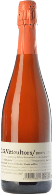 13,95 € Kostenloser Versand | Rosé Sekt DG Rosé Brut Reserva D.O. Cava Katalonien Spanien Pinot Schwarz Flasche 75 cl