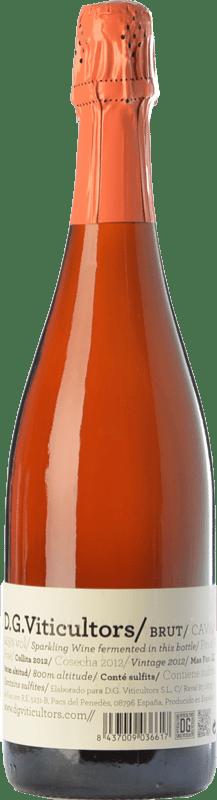 13,95 € Envoi gratuit | Rosé moussant DG Rosé Brut Reserva D.O. Cava Catalogne Espagne Pinot Noir Bouteille 75 cl