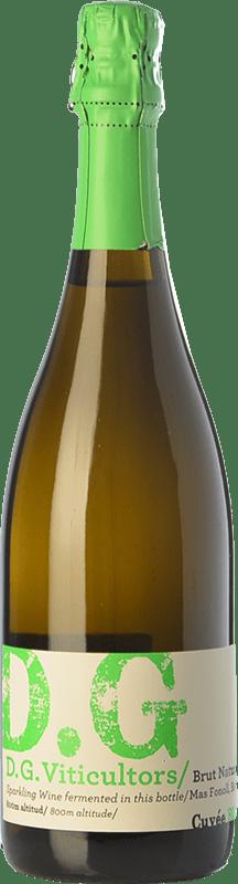 13,95 € Envío gratis | Espumoso blanco DG Garay Blanc D.O. Penedès Cataluña España Chardonnay Botella 75 cl