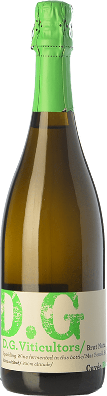 13,95 € Free Shipping | White sparkling DG Garay Blanc D.O. Penedès Catalonia Spain Chardonnay Bottle 75 cl