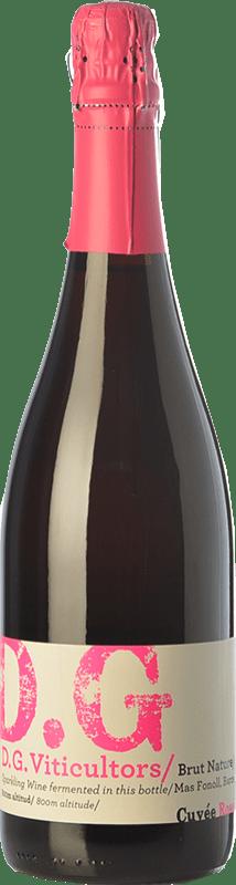 16,95 € Free Shipping | Rosé sparkling DG Garay Rosé D.O. Penedès Catalonia Spain Pinot Black Bottle 75 cl
