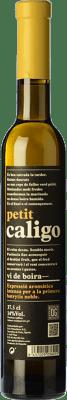 16,95 € Envío gratis | Vino dulce DG Petit Caligo D.O. Penedès Cataluña España Chardonnay, Sauvignon Blanca Media Botella 37 cl