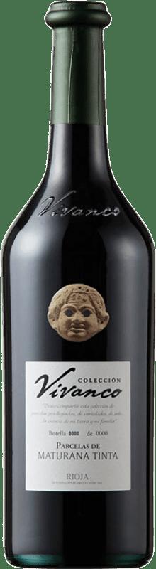 39,95 € Free Shipping | Red wine Vivanco Colección Parcelas de Maturana Crianza D.O.Ca. Rioja The Rioja Spain Maturana Tinta Bottle 75 cl