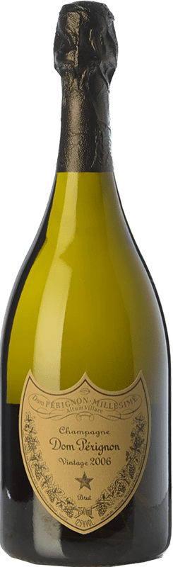 144,95 € Free Shipping | White sparkling Moët & Chandon Dom Pérignon Gran Reserva 2006 A.O.C. Champagne Champagne France Pinot Black, Chardonnay Bottle 75 cl
