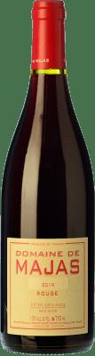 16,95 € Free Shipping | Red wine Domaine de Majas Rouge Joven I.G.P. Vin de Pays Côtes Catalanes Languedoc-Roussillon France Grenache, Carignan Bottle 75 cl
