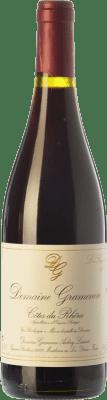 32,95 € Free Shipping | Red wine Domaine Gramenon La Sagesse Crianza A.O.C. Côtes du Rhône Rhône France Grenache Bottle 75 cl