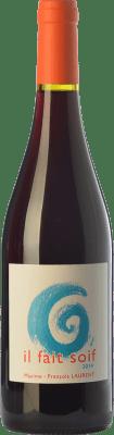 17,95 € Free Shipping | Red wine Domaine Gramenon Maxime-François Laurent Il Fait Soif Joven A.O.C. Côtes du Rhône Rhône France Syrah, Grenache Bottle 75 cl