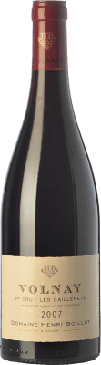77,95 € Free Shipping | Red wine Domaine Henri Boillot Premier Cru Les Caillerets Crianza 2007 A.O.C. Volnay Burgundy France Pinot Black Bottle 75 cl