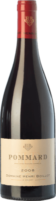 49,95 € Free Shipping | Red wine Domaine Henri Boillot Crianza 2008 A.O.C. Pommard Burgundy France Pinot Black Bottle 75 cl