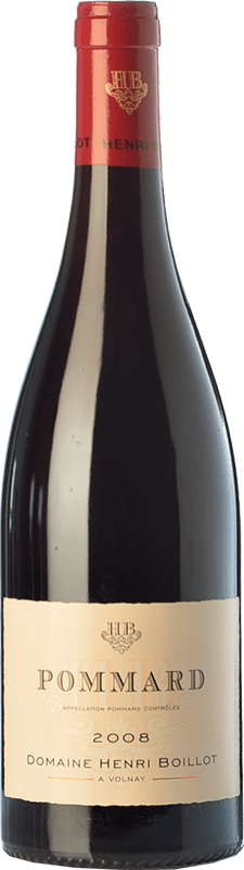 44,95 € Free Shipping | Red wine Domaine Henri Boillot Crianza A.O.C. Pommard Burgundy France Pinot Black Bottle 75 cl