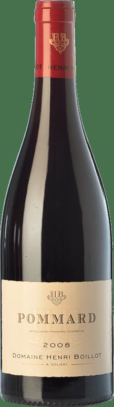 44,95 € Envío gratis | Vino tinto Domaine Henri Boillot Crianza A.O.C. Pommard Borgoña Francia Pinot Negro Botella 75 cl