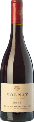 71,95 € Free Shipping | Red wine Domaine Henri Boillot Crianza A.O.C. Volnay Burgundy France Pinot Black Bottle 75 cl