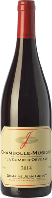 83,95 € Free Shipping | Red wine Domaine Jean Grivot La Combe d'Orveau Crianza A.O.C. Chambolle-Musigny Burgundy France Pinot Black Bottle 75 cl