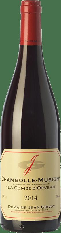 77,95 € Envoi gratuit | Vin rouge Domaine Jean Grivot La Combe d'Orveau Crianza A.O.C. Chambolle-Musigny Bourgogne France Pinot Noir Bouteille 75 cl
