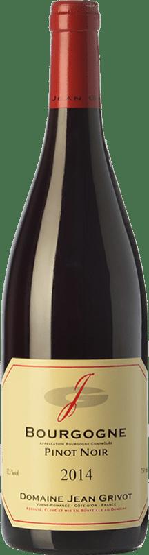 31,95 € Envoi gratuit | Vin rouge Domaine Jean Grivot Crianza A.O.C. Bourgogne Bourgogne France Pinot Noir Bouteille 75 cl