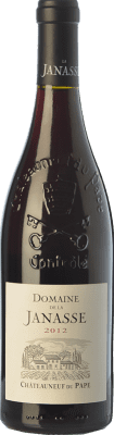44,95 € Free Shipping | Red wine Domaine La Janasse Crianza A.O.C. Châteauneuf-du-Pape Rhône France Syrah, Grenache, Mourvèdre, Cinsault Bottle 75 cl