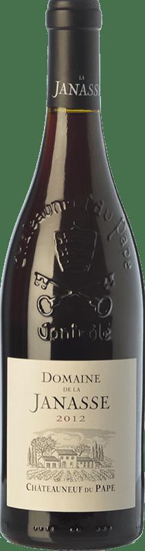45,95 € Free Shipping   Red wine Domaine La Janasse Crianza A.O.C. Châteauneuf-du-Pape Rhône France Syrah, Grenache, Mourvèdre, Cinsault Bottle 75 cl