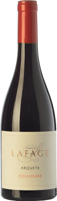 Red wine Domaine Lafage Arqueta Joven A.O.C. Collioure Languedoc-Roussillon France Syrah, Grenache, Carignan, Grenache Grey Bottle 75 cl