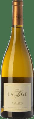 7,95 € Envío gratis | Vino blanco Domaine Lafage Cadireta I.G.P. Vin de Pays Côtes Catalanes Languedoc-Roussillon Francia Chardonnay Botella 75 cl
