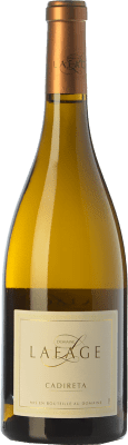 9,95 € Free Shipping | White wine Domaine Lafage Cadireta I.G.P. Vin de Pays Côtes Catalanes Languedoc-Roussillon France Chardonnay Bottle 75 cl