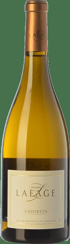 7,95 € Envoi gratuit | Vin blanc Domaine Lafage Cadireta I.G.P. Vin de Pays Côtes Catalanes Languedoc-Roussillon France Chardonnay Bouteille 75 cl