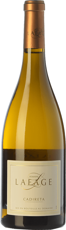 7,95 € Free Shipping | White wine Domaine Lafage Cadireta I.G.P. Vin de Pays Côtes Catalanes Languedoc-Roussillon France Chardonnay Bottle 75 cl