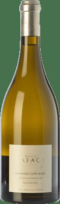17,95 € Envío gratis | Vino blanco Domaine Lafage La Grande Cuvée Blanc Crianza A.O.C. Côtes du Roussillon Languedoc-Roussillon Francia Garnacha, Garnacha Gris, Macabeo Botella 75 cl