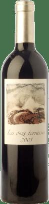 Vin rouge Domaine Lafage Les Onze Terrasses Reserva 2005 A.O.C. Côtes du Roussillon Languedoc-Roussillon France Syrah, Grenache, Carignan Bouteille 75 cl