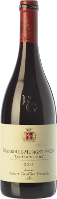 176,95 € Free Shipping | Red wine Robert Groffier Les Hauts Doix Crianza A.O.C. Chambolle-Musigny Burgundy France Pinot Black Bottle 75 cl