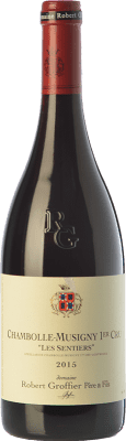 185,95 € Free Shipping | Red wine Robert Groffier Les Sentiers Crianza A.O.C. Chambolle-Musigny Burgundy France Pinot Black Bottle 75 cl