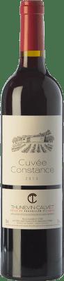 9,95 € Free Shipping | Red wine Thunevin-Calvet Cuvée Constance Joven A.O.C. Côtes du Roussillon Villages Languedoc-Roussillon France Grenache, Carignan Bottle 75 cl