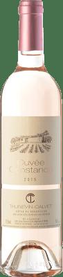 8,95 € Free Shipping | Rosé wine Thunevin-Calvet Cuvée Constance Rosé A.O.C. Côtes du Roussillon Languedoc-Roussillon France Syrah, Grenache Bottle 75 cl