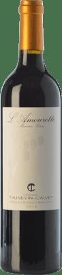 13,95 € Free Shipping | Red wine Thunevin-Calvet L'Amourette Joven A.O.C. Côtes du Roussillon Villages Languedoc-Roussillon France Grenache, Mourvèdre Bottle 75 cl