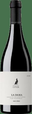 32,95 € Free Shipping | Red wine Lupier La Dama Crianza D.O. Navarra Navarre Spain Grenache Bottle 75 cl