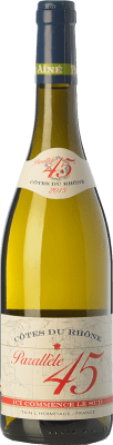 16,95 € Envoi gratuit | Vin blanc Jaboulet Aîné Parallèle 45 Blanc Crianza I.G.P. Vin de Pays Rhône Rhône France Grenache Blanc, Viognier, Marsanne, Bourboulenc Bouteille 75 cl