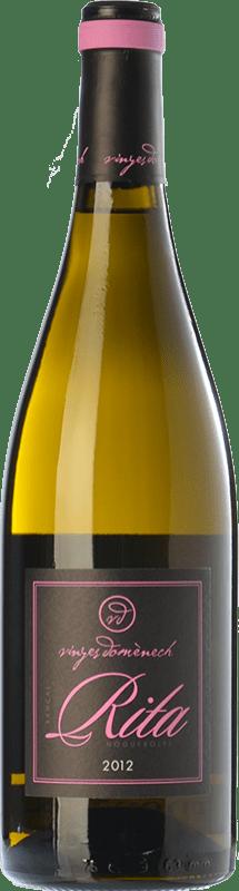 21,95 € Free Shipping | White wine Domènech Rita Crianza D.O. Montsant Catalonia Spain Grenache White, Macabeo Bottle 75 cl