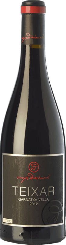 48,95 € Free Shipping | Red wine Domènech Teixar Crianza D.O. Montsant Catalonia Spain Grenache Hairy Bottle 75 cl