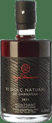 29,95 € Kostenloser Versand | Süßer Wein Domènech Vi Dolç Natural de Garnatxa D.O. Montsant Katalonien Spanien Grenache Haarig Flasche 75 cl