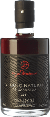 29,95 € Free Shipping | Sweet wine Domènech Vi Dolç Natural de Garnatxa D.O. Montsant Catalonia Spain Grenache Hairy Bottle 75 cl