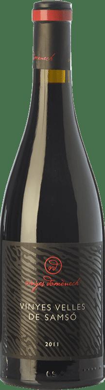 36,95 € Free Shipping | Red wine Domènech Vinyes Velles de Samsó Crianza D.O. Montsant Catalonia Spain Carignan Bottle 75 cl