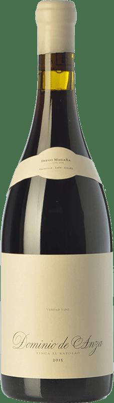 32,95 € Free Shipping | Red wine Dominio de Anza El Rapolao Joven D.O. Bierzo Castilla y León Spain Grenache, Mencía, Sousón Bottle 75 cl