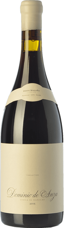 32,95 € Envío gratis | Vino tinto Dominio de Anza El Rapolao Joven D.O. Bierzo Castilla y León España Garnacha, Mencía, Sousón Botella 75 cl