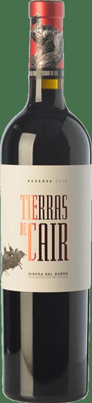 38,95 € Envío gratis | Vino tinto Dominio de Cair Tierras de Cair Reserva D.O. Ribera del Duero Castilla y León España Tempranillo Botella 75 cl